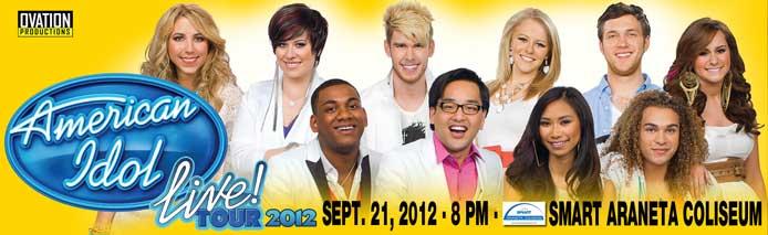 American Idol live! Tour 2012