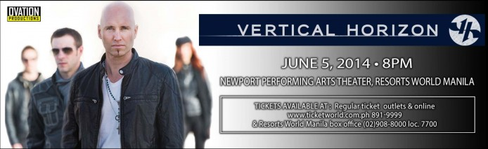 VERTICAL HORIZON HEADER